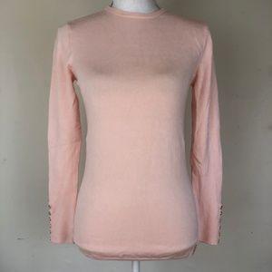 Zara Knit Baby Pink Longsleeve Sweater